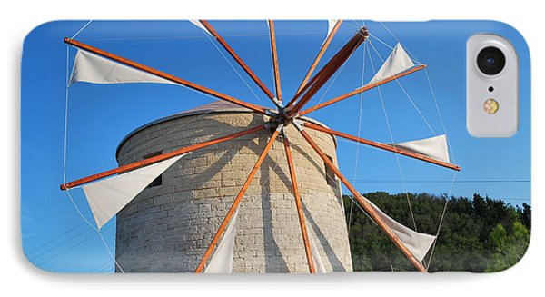 Windmill  2 IPhone Case by George Katechis