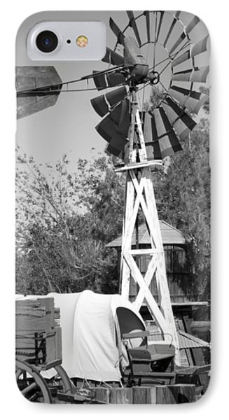 Windmill And Wagon IPhone Case by Ivete Basso Photography