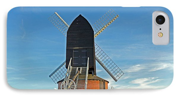 Windmill At Brill IPhone Case