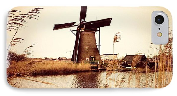 Windmill Phone Case by Beril Sirmacek