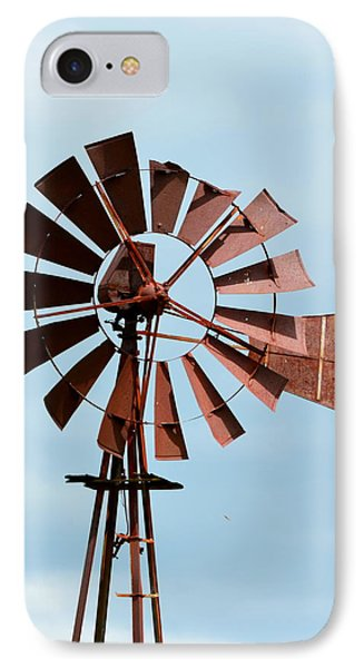 IPhone Case featuring the photograph Windmill by Cathy Shiflett