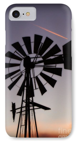 IPhone Case featuring the photograph Windmill Close-up by Jim McCain