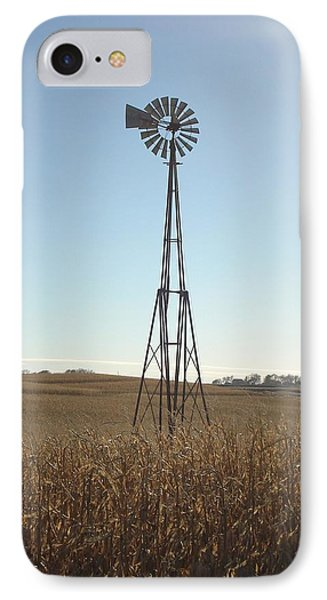 IPhone Case featuring the photograph Windmill by J L Zarek