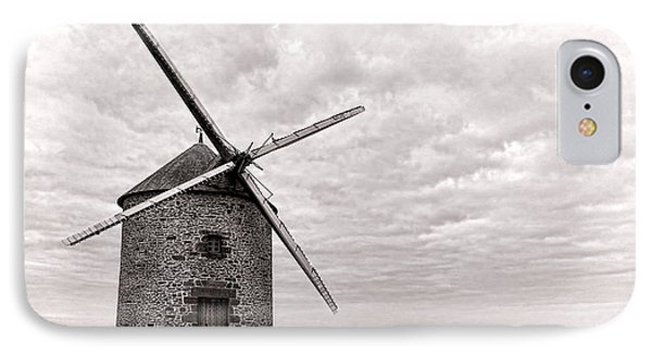 Windmill IPhone Case by Olivier Le Queinec