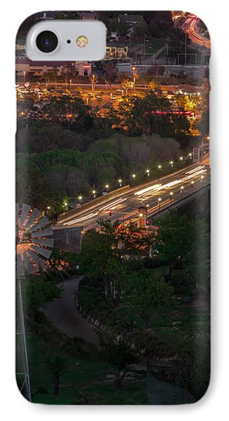 Windmill Over Niblick Bridge IPhone Case by Tim Bryan