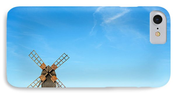 Windmill Portrait IPhone Case by Kennerth and Birgitta Kullman