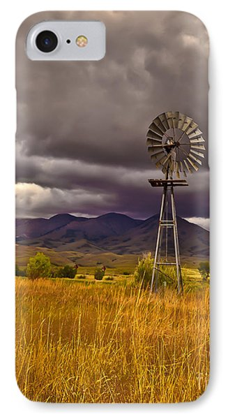 Windmill Phone Case by Robert Bales