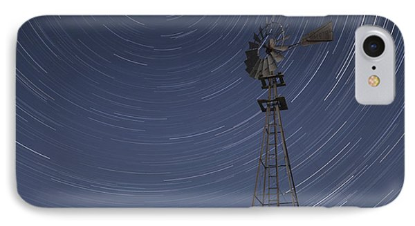 Windmill Stars IPhone Case by Latah Trail Foundation