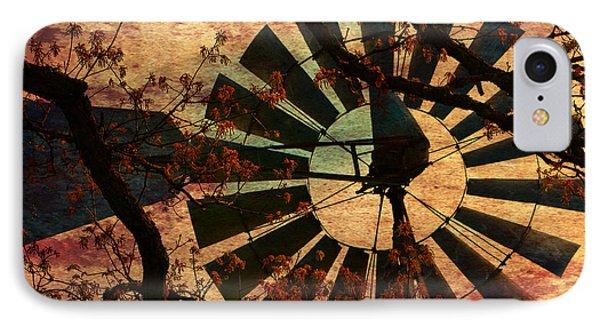 Windmill Through The Oak IPhone Case