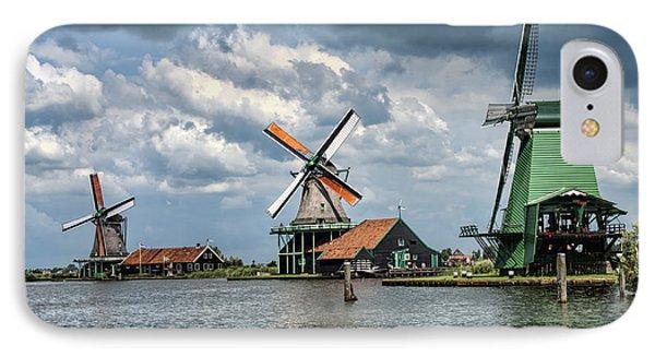 Windmill Trio IPhone Case