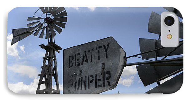 Windmills 1 Phone Case by Bob Christopher