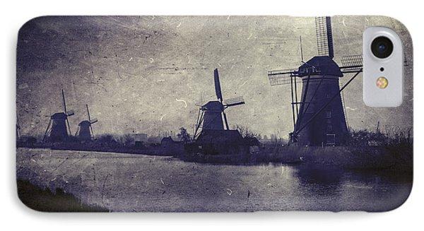 Windmills Phone Case by Joana Kruse