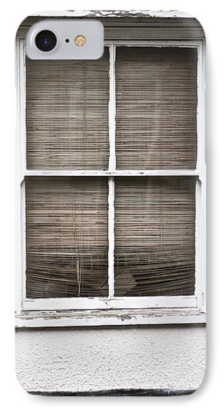 Window And Blind IPhone Case by Tom Gowanlock