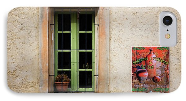 Window And Poster In Minerve IPhone Case by Panoramic Images