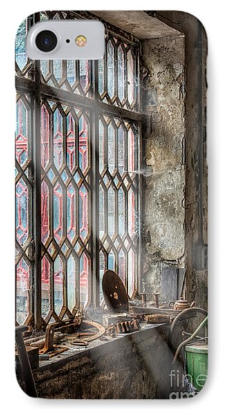 Window Decay Phone Case by Adrian Evans
