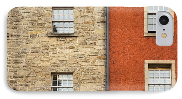 Window Detail Edinburgh IPhone Case by Jane Rix