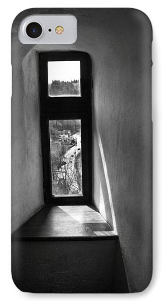 Window Dracula's Castle Interior204 Phone Case by Dorin Stef