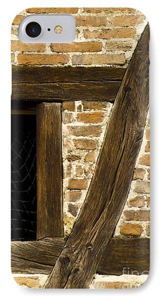 Window Frame Detail 1 Phone Case by Heiko Koehrer-Wagner