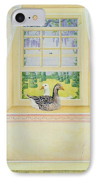Window Geese IPhone Case
