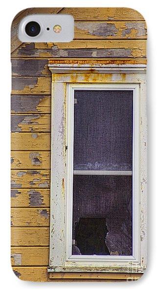 Window In Abandoned House Phone Case by Jill Battaglia