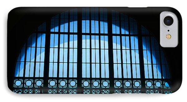 IPhone Case featuring the photograph Window In Chattanooga Train Depot by Susan  McMenamin
