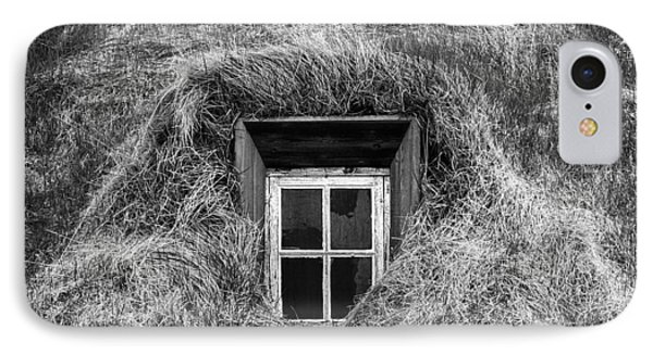 Window In Nature IPhone Case by Frodi Brinks