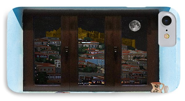 IPhone Case featuring the photograph Window Into Greece 3 by Eric Kempson