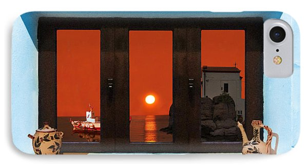 IPhone Case featuring the photograph Window Into Greece 4 by Eric Kempson