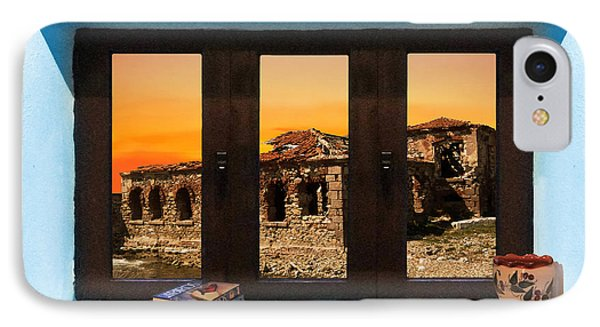 IPhone Case featuring the photograph Window Into Greece 5 by Eric Kempson