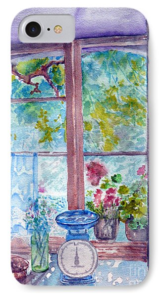 IPhone Case featuring the painting Window by Jasna Dragun