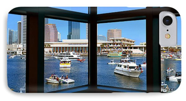 Window On Gasparilla IPhone Case