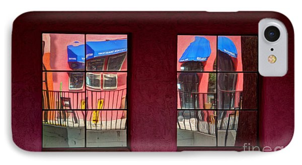 Window Reflections Phone Case by Vivian Christopher