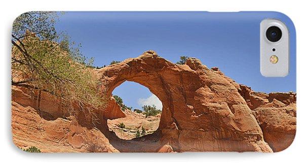 Window Rock Arizona Phone Case by Christine Till