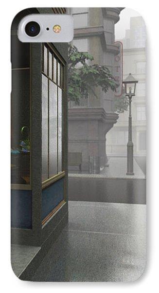 Window Shopping Phone Case by Cynthia Decker