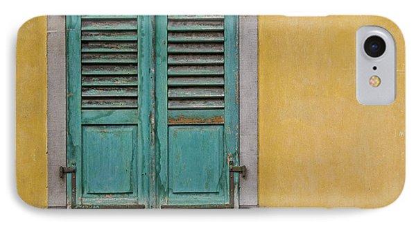 Window Shutter Phone Case by Heiko Koehrer-Wagner
