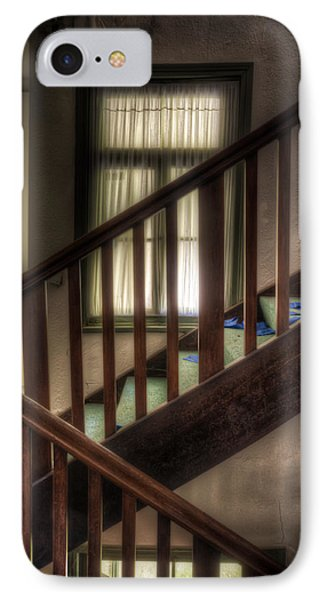 Window Stairs IPhone Case by Nathan Wright