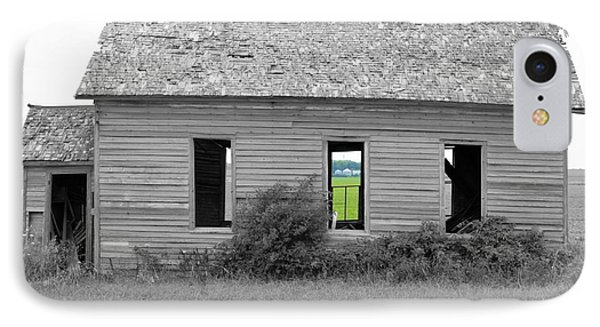 Window To The Future IPhone Case by Bonfire Photography