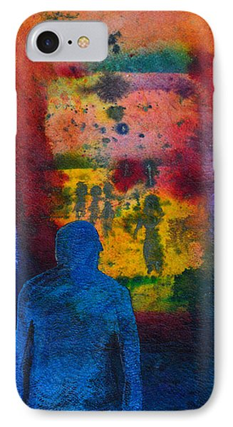 Window To The Other Side Phone Case by Donna Blackhall