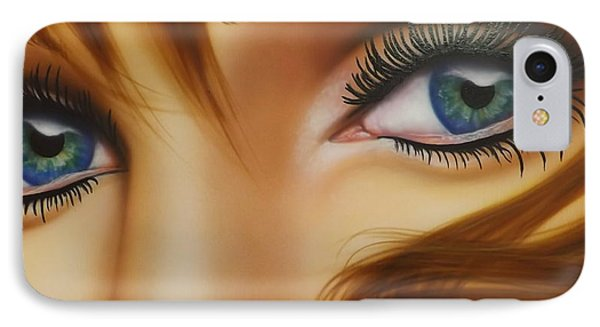 Window To The Soul Phone Case by Darren Robinson