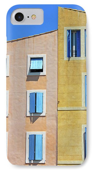 IPhone Case featuring the photograph Windows Martigues Provence France by Dave Mills