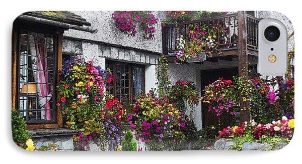 Windows Of Flowers IPhone Case