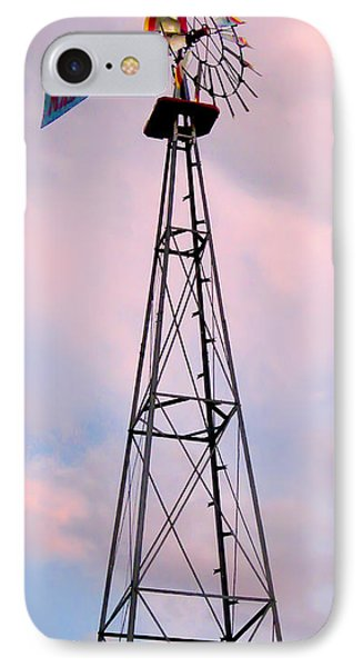 IPhone Case featuring the photograph Windpump by Brian Wallace
