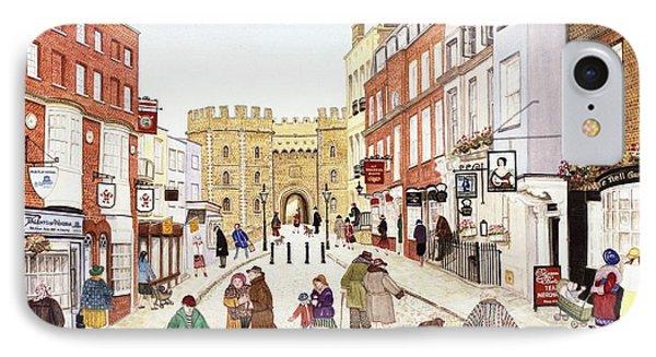 Windsor Castle, 1989 Watercolour On Paper IPhone Case