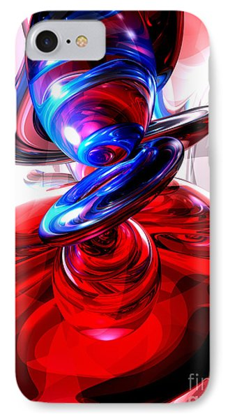 Windstorm Abstract Phone Case by Alexander Butler