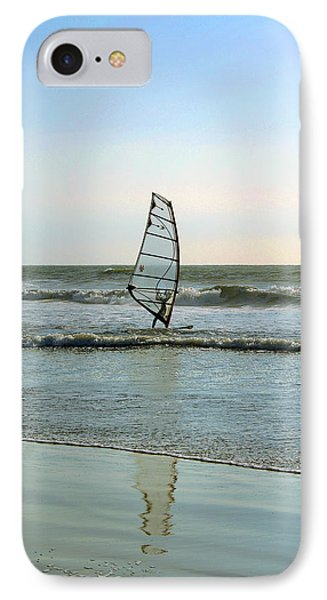 Windsurfing Phone Case by Ben and Raisa Gertsberg