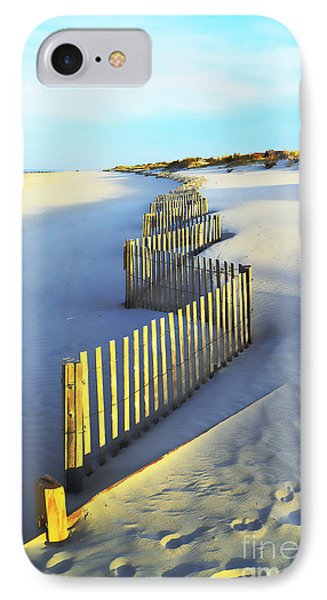 Windswept At Sunset - Jersey Shore IPhone Case