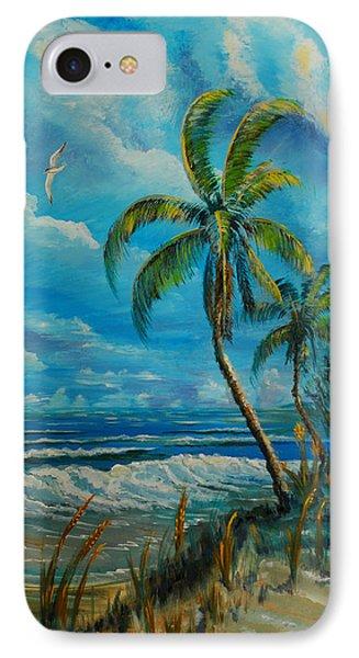 Windswept Beach IPhone Case by Steve Ozment