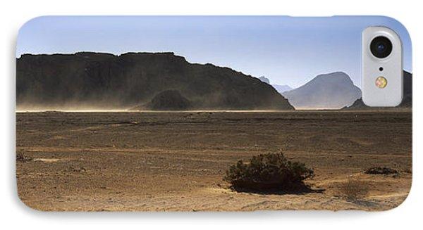 Windswept Desert, Wadi Rum, Jordan IPhone Case