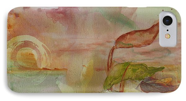 IPhone Case featuring the painting Windswept by Robin Maria Pedrero