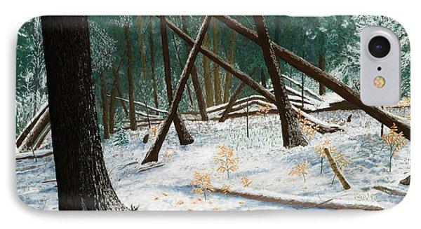Windswept Woods IPhone Case